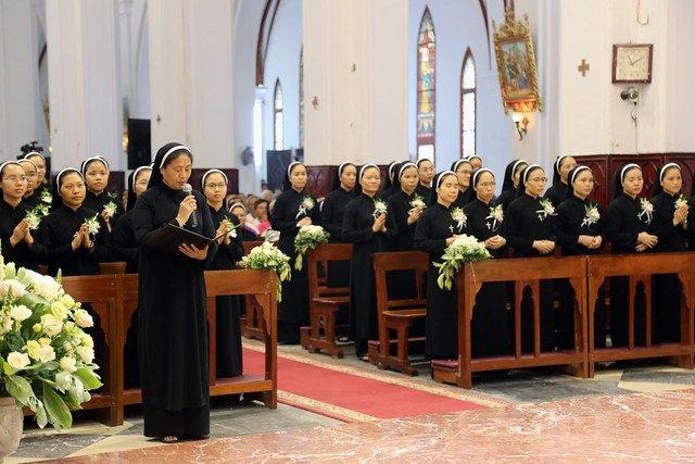 15971 khan dong mtg 24 - 39 nữ tu tuyên khấn trong Dòng Mến Thánh Giá Hà Nội: Một lần đoan hứa