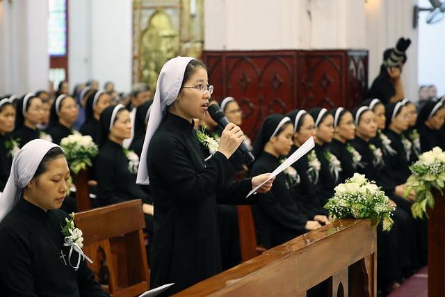 15971 khan dong mtg 5 - 39 nữ tu tuyên khấn trong Dòng Mến Thánh Giá Hà Nội: Một lần đoan hứa