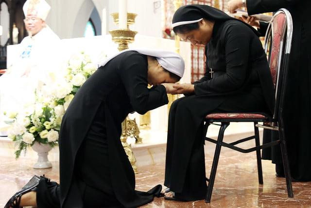 15971 khan dong mtg 7 - 39 nữ tu tuyên khấn trong Dòng Mến Thánh Giá Hà Nội: Một lần đoan hứa