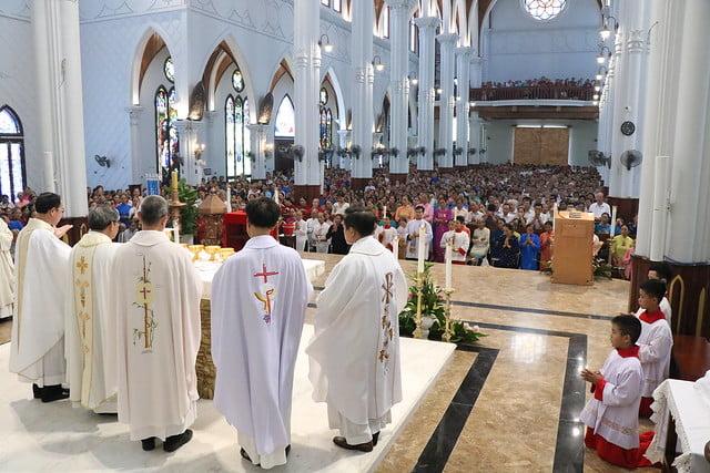 16035 legio 7 - Thánh Lễ Kỷ Niệm 71 năm Thành Lập Hội Legio Mariae TGP Hà Nội 2019