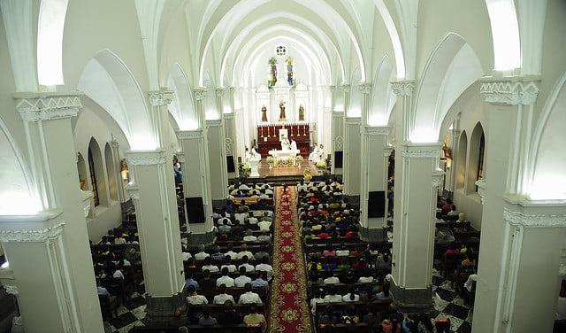 16050 nhan xu - Cha Giuse Vũ Quang Học chính thức nhận sứ vụ tại Giáo xứ Hàm Long và Trung Chí