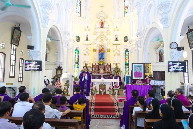 16060 ha thao8 - Thánh lễ giỗ 12 năm năm Đức Ông Giuse Đích Nguyễn Ngọc Oánh: Vị tông đồ nhiệt thành của Chúa