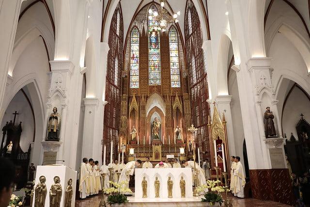 16072 me len troi 5 - Đại lễ Đức Mẹ Linh Hồn và Xác lên trời tại Nhà thờ Chính Tòa Hà Nội 2019