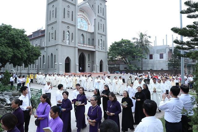 16080 nam thanh 1 - Dòng Mến Thánh Giá Hà Nội khai mạc Năm Thánh mừng 350 năm hồng ân