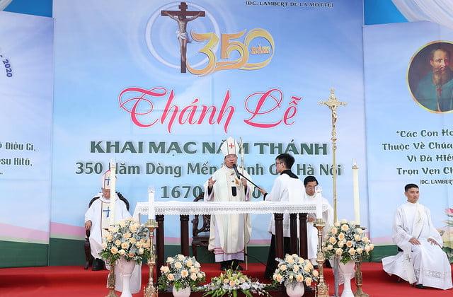 16080 nam thanh 10 - Dòng Mến Thánh Giá Hà Nội khai mạc Năm Thánh mừng 350 năm hồng ân