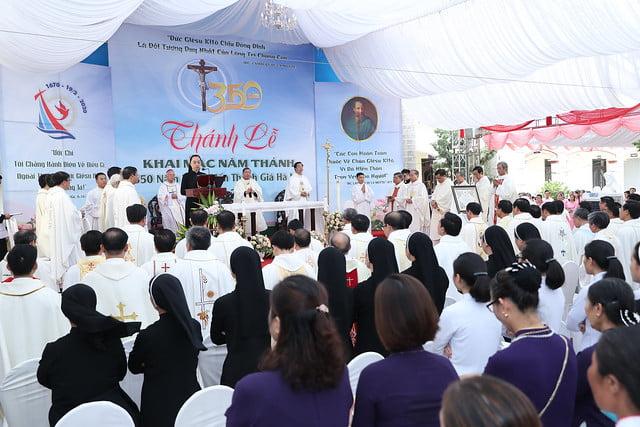16080 nam thanh 11 - Dòng Mến Thánh Giá Hà Nội khai mạc Năm Thánh mừng 350 năm hồng ân