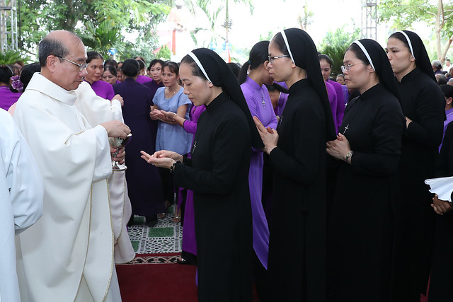 16080 nam thanh 17 - Dòng Mến Thánh Giá Hà Nội khai mạc Năm Thánh mừng 350 năm hồng ân