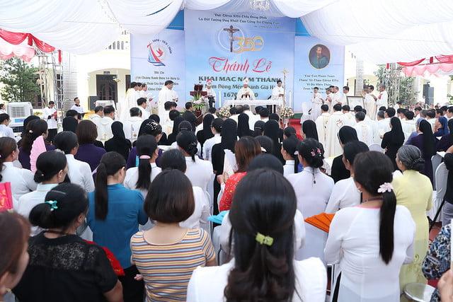 16080 nam thanh 18 - Dòng Mến Thánh Giá Hà Nội khai mạc Năm Thánh mừng 350 năm hồng ân