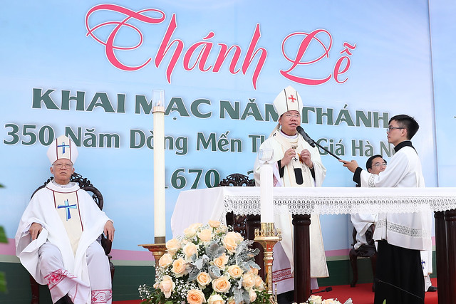 16080 nam thanh 20 - Dòng Mến Thánh Giá Hà Nội khai mạc Năm Thánh mừng 350 năm hồng ân