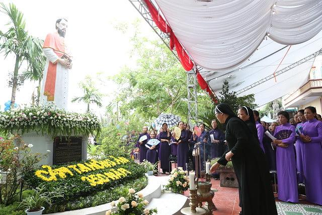 16080 nam thanh 22 - Dòng Mến Thánh Giá Hà Nội khai mạc Năm Thánh mừng 350 năm hồng ân