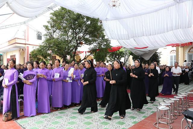 16080 nam thanh 23 - Dòng Mến Thánh Giá Hà Nội khai mạc Năm Thánh mừng 350 năm hồng ân
