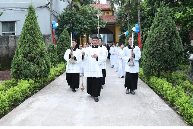 16080 nam thanh 4 - Dòng Mến Thánh Giá Hà Nội khai mạc Năm Thánh mừng 350 năm hồng ân