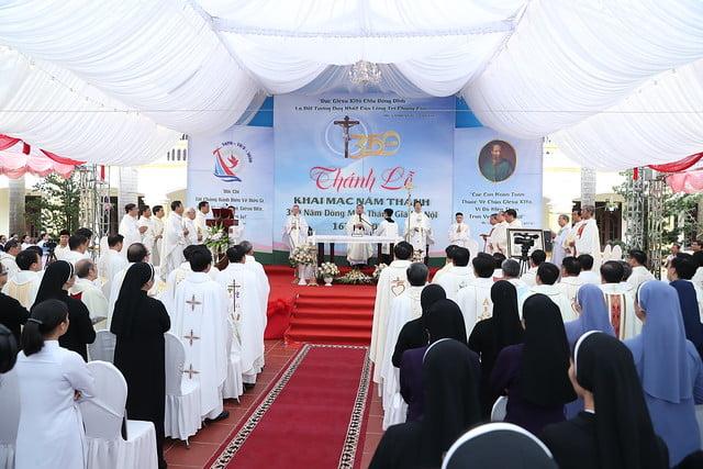 16080 nam thanh 6 - Dòng Mến Thánh Giá Hà Nội khai mạc Năm Thánh mừng 350 năm hồng ân