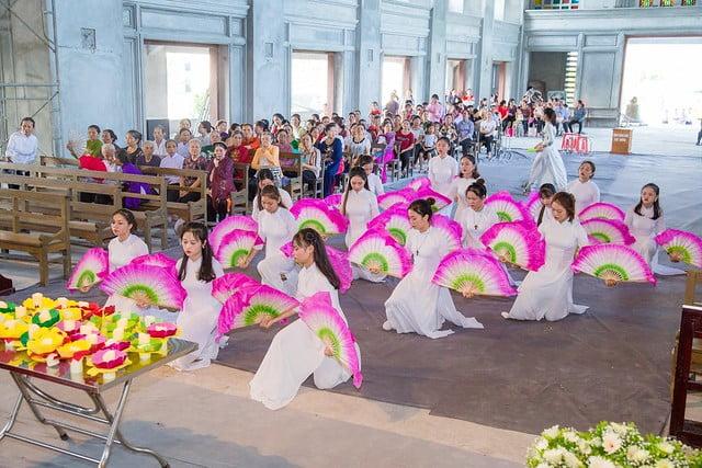 16094 nhu thuc 1 - Giáo họ Như Thức: Mừng lễ quan thày tại nhà thờ đang xây dựng