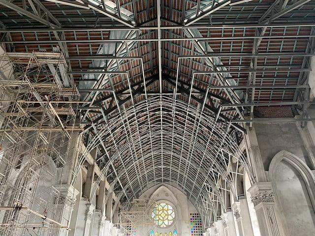 16094 nhu thuc 2 - Giáo họ Như Thức: Mừng lễ quan thày tại nhà thờ đang xây dựng