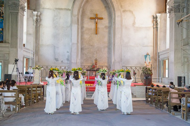 16094 nhu thuc 5 - Giáo họ Như Thức: Mừng lễ quan thày tại nhà thờ đang xây dựng