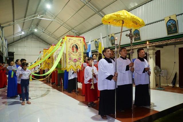 16099 lai yen 1 - Thiếu nhi giáo xứ Lại Yên mừng lễ Thánh Bổn mạng Pi-ô X
