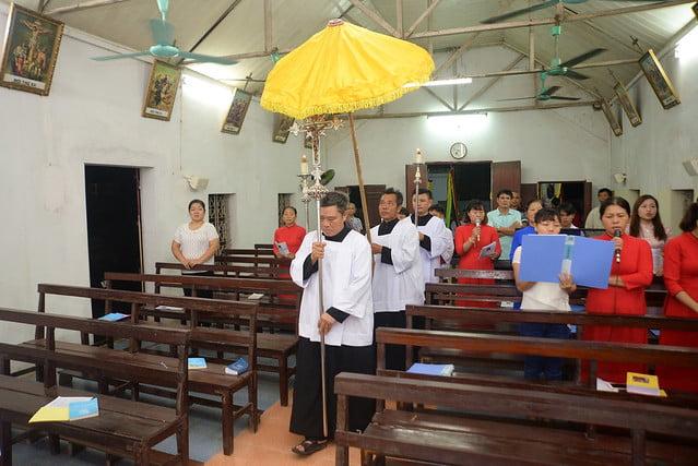 16099 lai yen 6 - Thiếu nhi giáo xứ Lại Yên mừng lễ Thánh Bổn mạng Pi-ô X