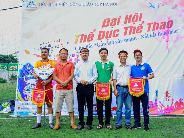 16101 the thao 3 - Hội SVCG TGP Hà Nội: Khai mạc Đại hội Thể dục Thể Thao lần thứ 5-2019