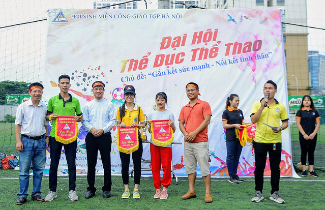 16101 the thao 4 - Hội SVCG TGP Hà Nội: Khai mạc Đại hội Thể dục Thể Thao lần thứ 5-2019