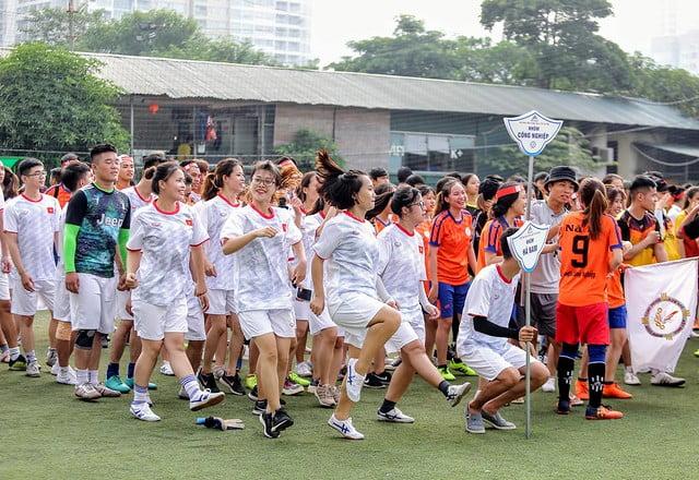 16101 the thao 5 - Hội SVCG TGP Hà Nội: Khai mạc Đại hội Thể dục Thể Thao lần thứ 5-2019