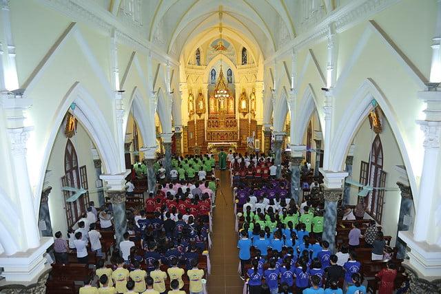 16142 gioi tre 1 - Giới trẻ giáo xứ Cao Mật Bến mừng lễ thánh Augustinô quan thầy