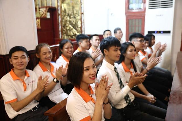 16161 quan thay 10 - Giới trẻ Chính tòa Hà Nội hân hoan mừng lễ Thánh Quan Thầy Augustinô