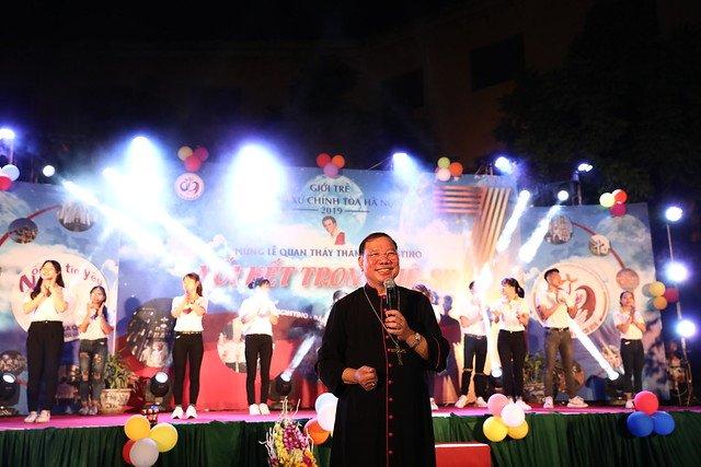 16161 quan thay 11 - Giới trẻ Chính tòa Hà Nội hân hoan mừng lễ Thánh Quan Thầy Augustinô