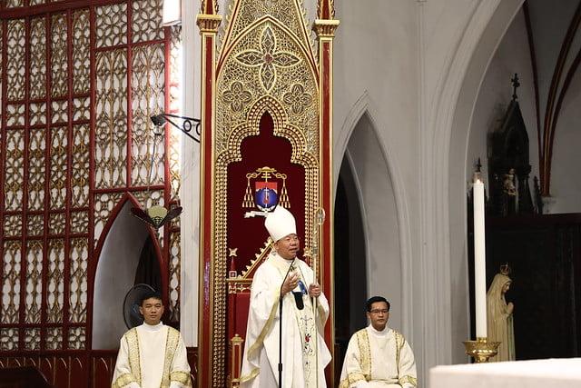 16161 quan thay 2 - Giới trẻ Chính tòa Hà Nội hân hoan mừng lễ Thánh Quan Thầy Augustinô