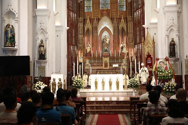 16161 quan thay 3 - Giới trẻ Chính tòa Hà Nội hân hoan mừng lễ Thánh Quan Thầy Augustinô