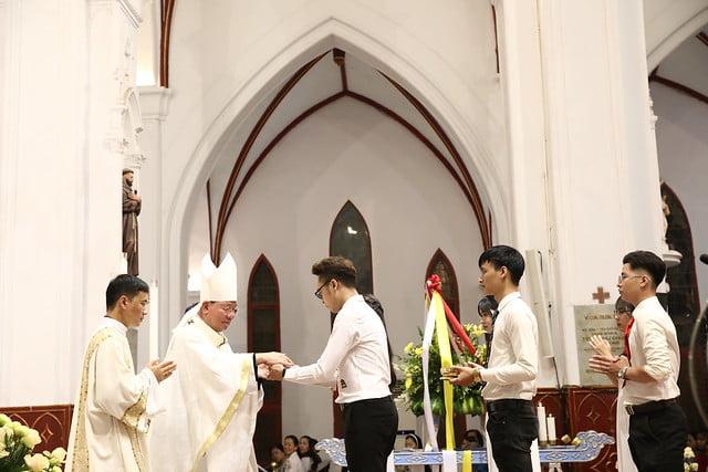 16161 quan thay 4 - Giới trẻ Chính tòa Hà Nội hân hoan mừng lễ Thánh Quan Thầy Augustinô