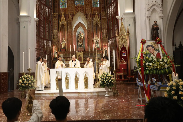 16161 quan thay 5 - Giới trẻ Chính tòa Hà Nội hân hoan mừng lễ Thánh Quan Thầy Augustinô