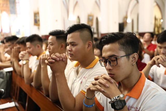 16161 quan thay 7 - Giới trẻ Chính tòa Hà Nội hân hoan mừng lễ Thánh Quan Thầy Augustinô