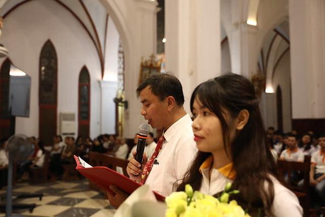 16161 quan thay 8 - Giới trẻ Chính tòa Hà Nội hân hoan mừng lễ Thánh Quan Thầy Augustinô