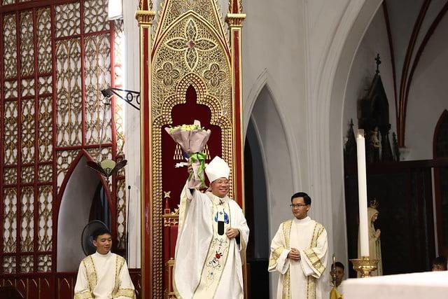 16161 quan thay 9 - Giới trẻ Chính tòa Hà Nội hân hoan mừng lễ Thánh Quan Thầy Augustinô