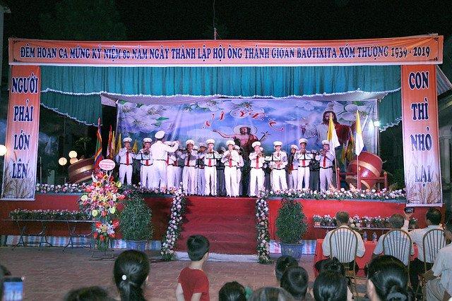 16163 hoi gioan 1 - Kỷ niệm 80 năm ngày thành lập Hội thánh Gioan Tẩy Giả tại Thạch Bích