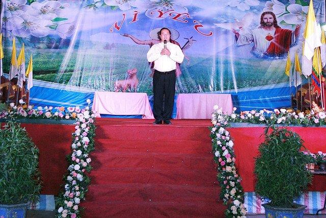 16163 hoi gioan 2 - Kỷ niệm 80 năm ngày thành lập Hội thánh Gioan Tẩy Giả tại Thạch Bích