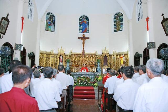 16163 hoi gioan 4 - Kỷ niệm 80 năm ngày thành lập Hội thánh Gioan Tẩy Giả tại Thạch Bích