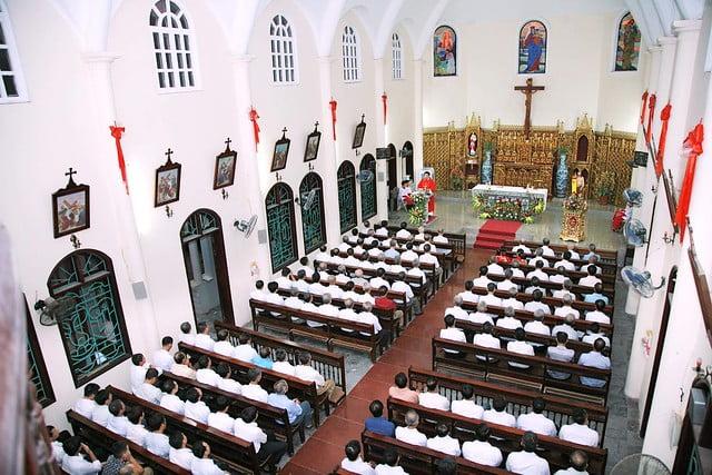 16163 hoi gioan 5 - Kỷ niệm 80 năm ngày thành lập Hội thánh Gioan Tẩy Giả tại Thạch Bích