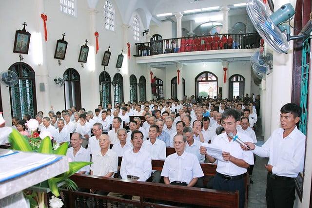16163 hoi gioan 6 - Kỷ niệm 80 năm ngày thành lập Hội thánh Gioan Tẩy Giả tại Thạch Bích
