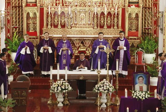 16170 le gio 1 - Thánh lễ giỗ Cha Giuse Trần Bình Trọng: Vị mục tử hiền lành và khiêm nhường
