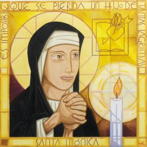 25 monica 8 27 - Thánh nữ Mônica - Mẹ hiền