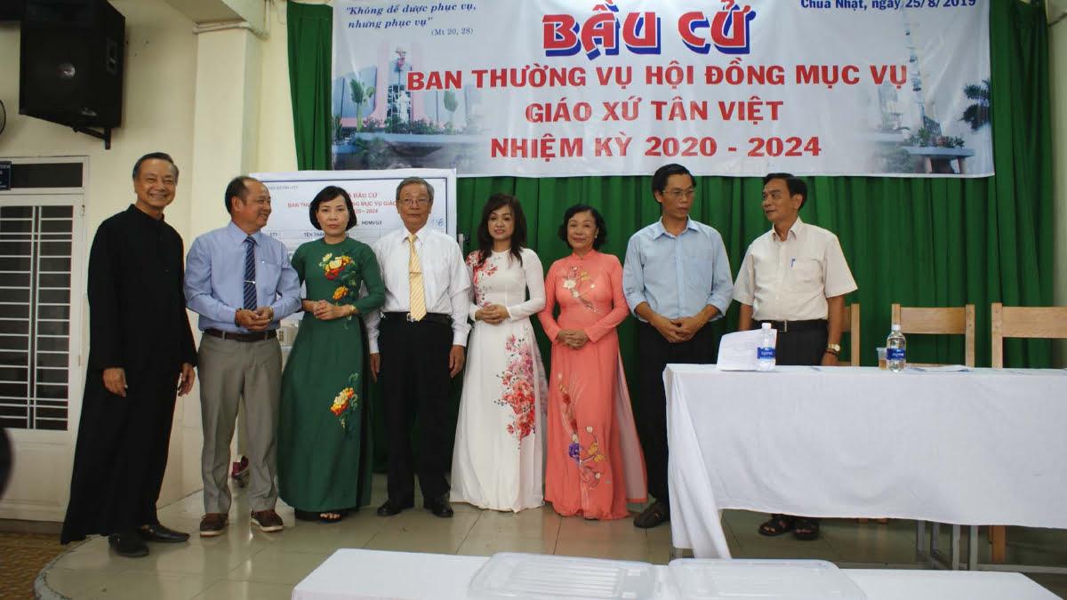 27082019 084024 7 - Giáo xứ Tân Việt: Bầu Ban thường vụ Hội đồng Mục vụ