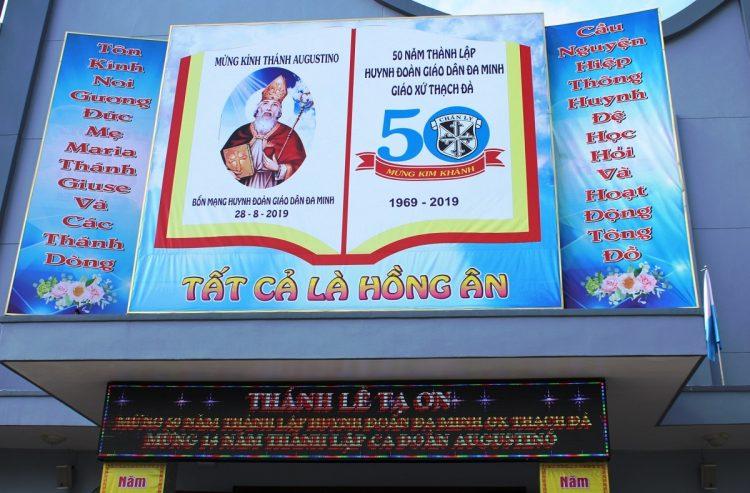 30082019 143924 1 750x493 - Giáo xứ Thạch Đà: Mừng 50 năm Huynh đoàn Giáo dân Đaminh