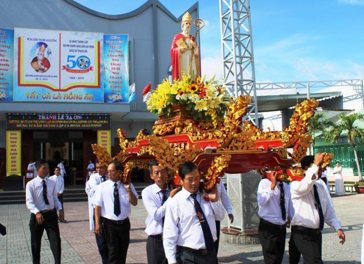 30082019 143924 2 750x544 - Giáo xứ Thạch Đà: Mừng 50 năm Huynh đoàn Giáo dân Đaminh