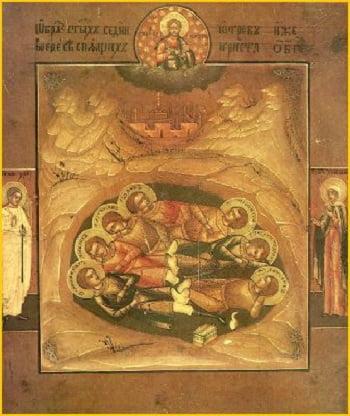 cac vi thanh - Các vị Thánh này thật sự đã được Thiên Chúa cho ngủ suốt gần 300 năm
