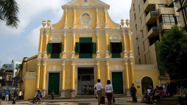 dai chung vien me chua cuu the - ĐHY Fernando Filoni khánh thành Đại chủng viện Mẹ Chúa Cứu Thế tại Macao