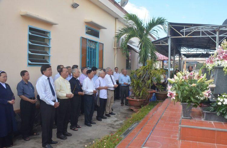 gio man tang1 750x488 - Giỗ mãn tang cha Phêrô Nguyễn Công Danh