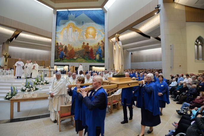 knock 2 - Giáo hội Ireland kỷ niệm 140 năm Đức Mẹ hiện ra tại Knock