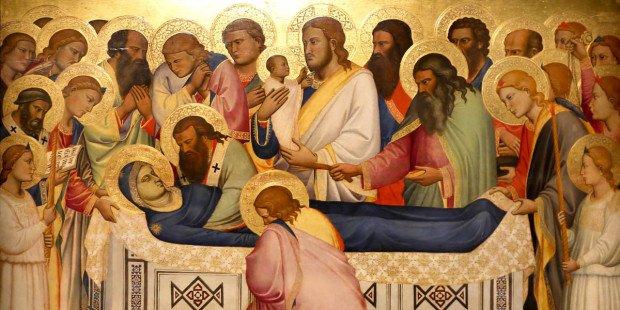 melentroi8 15 - Sự chết và lên trời của Đức Maria: Những tư tưởng tuyệt vời của các thánh
